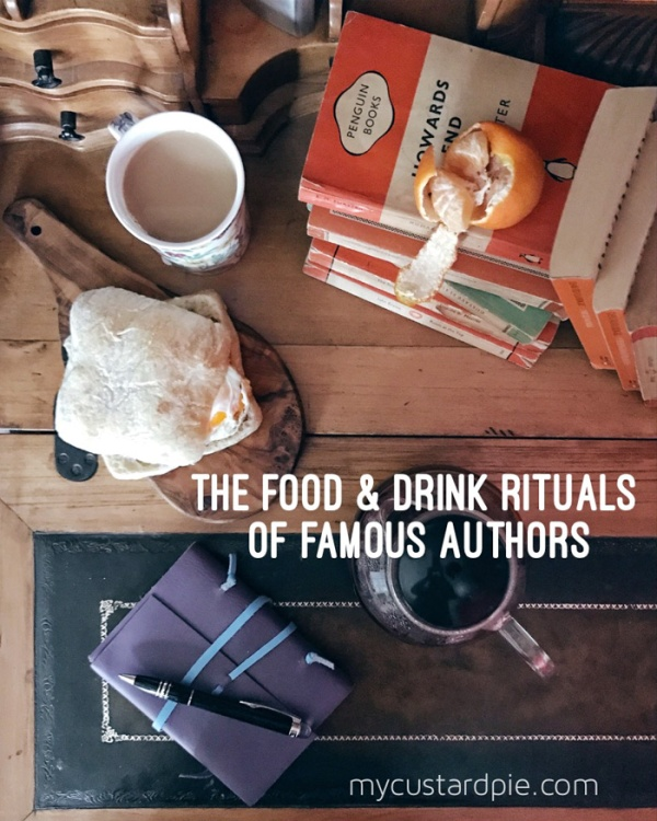 The food and drink rituals of famous authors