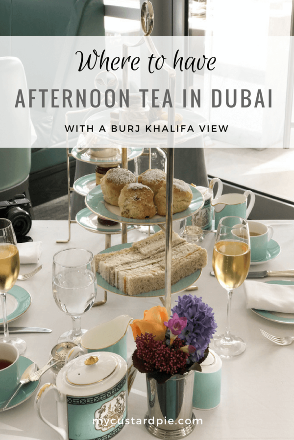 Best Afternoon tea in Dubai with a Burj Khalifa view
