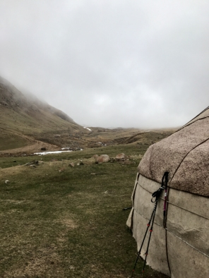 Hiking and exploring in Kyrgyzstan