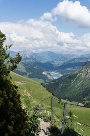 A train ride to Rochers de Naye, Vaud, Switzerland