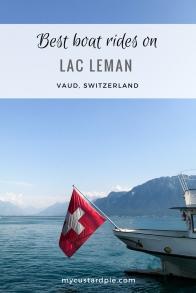 Paddle steamer rides on Lake Geneva or Lac Leman