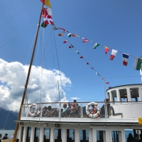 Belle Epoque jaunts: old-fashioned boating on Lac Leman