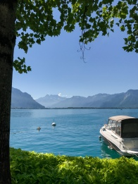 Boat ride on Lac Leman
