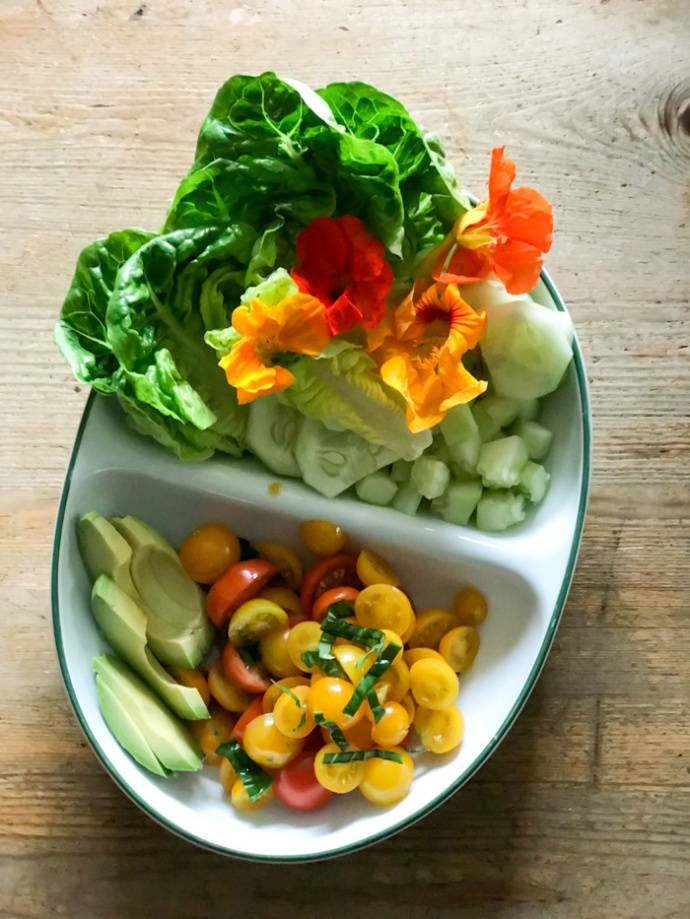 Garden salad - Wild Honey and Rye cookbook review