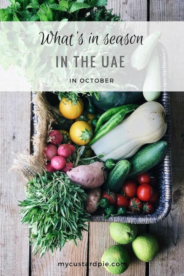 Whats In Season in UAE in October