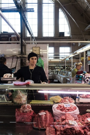 In the meat market