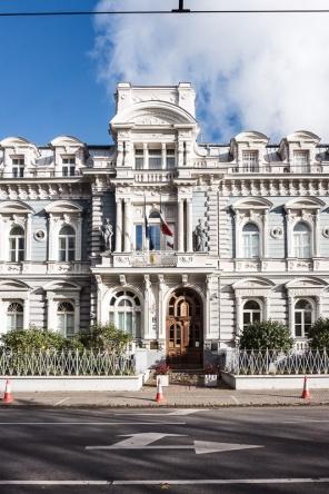 Ornate building, Riga Latvia