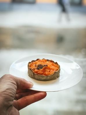 A carrot tart
