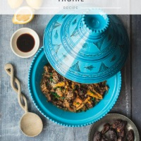 Moroccan spiced date and beef tagine