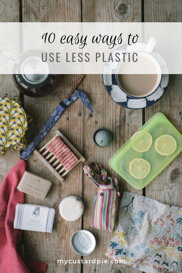 Easy ways to use less plastic