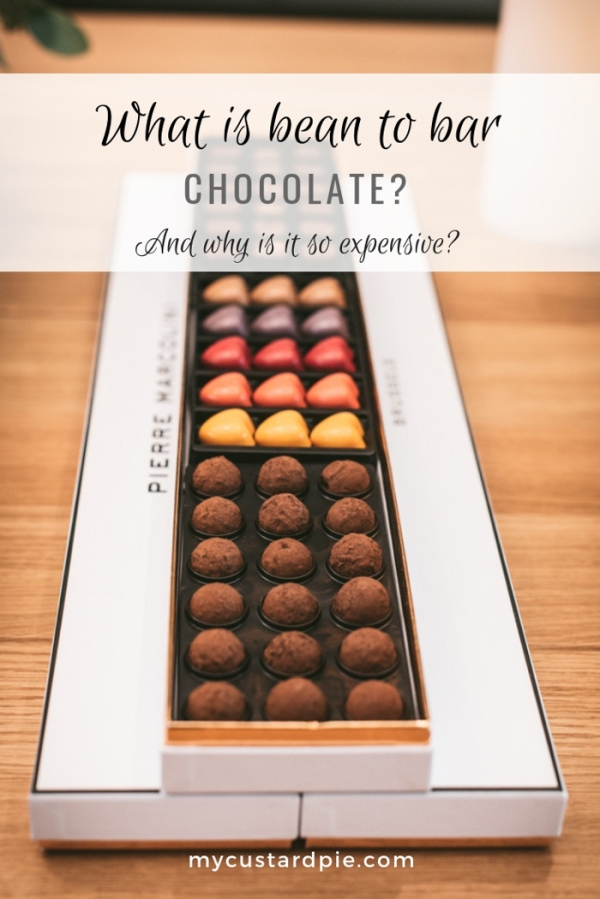 A box of Pierre Marcolini chocolates
