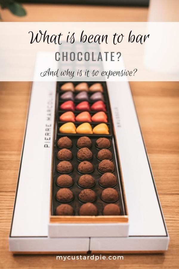 A box of Pierre Marcolini chocolates
