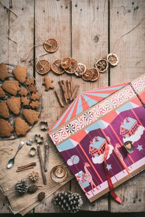 Pierre Marcolini advent calendar and gingerbread