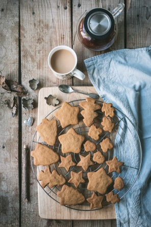 gingerbread and a cup of tea