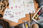 paintings of wine