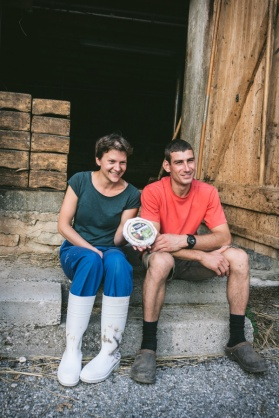 Mathilde and Fabrice of Ferme des Pezieres