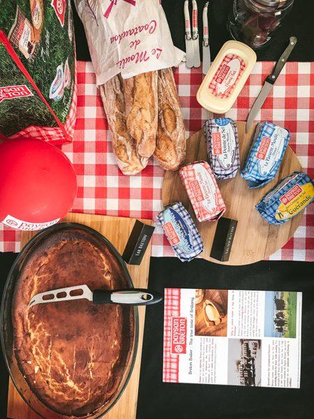 Butter, bread and Far Breton