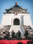 Chiang Kai-shek Memorial Hall and jazz band