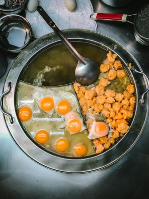 eggs cooking