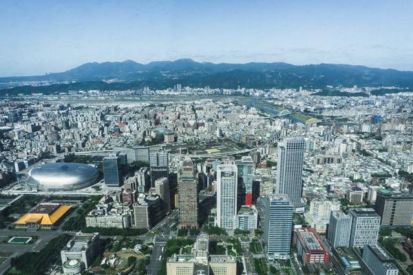 view of Taipei