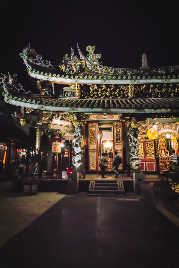 part of chinese temple