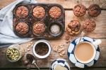 Banana date muffins-1166