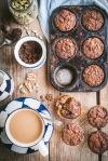 Banana date muffins-1193