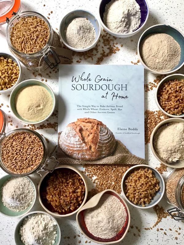 Wholegrain sourdough at home book
