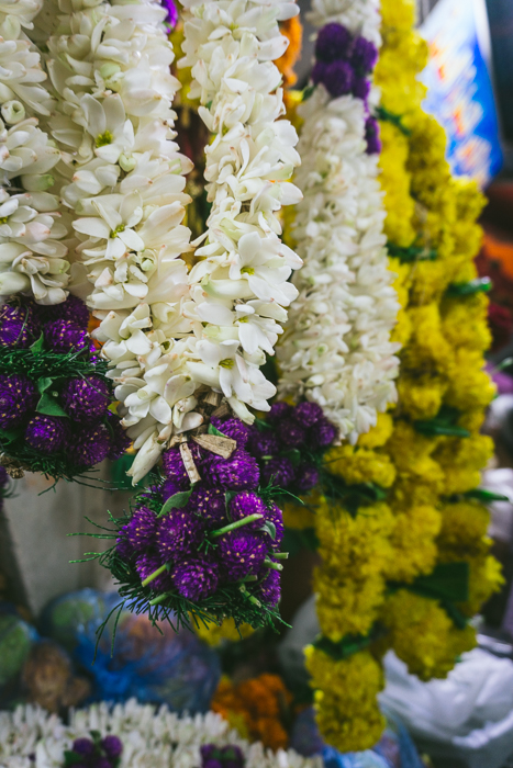 garlands of flowers